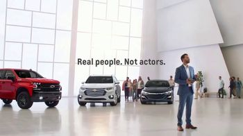 Chevrolet TV Spot, 'J.D. Power Quality Awards: Packed House' [T1]