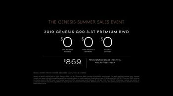Genesis Summer Sales Event TV Spot, 'Your Time Is Priority' [T2] - Thumbnail 7