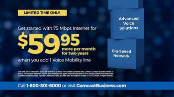 Comcast Business TV Spot, 'Not Done Yet: 75 Mbps for $59.95' - Thumbnail 7