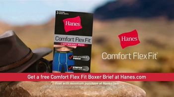Hanes Comfort Flex Fit TV Spot, 'Magic of the Pouch: Free Boxer Brief' - Thumbnail 7