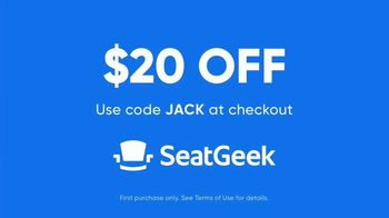 SeatGeek TV Spot, 'Jack's Guarantee: Basketball Tickets: $20 Off' - Thumbnail 9
