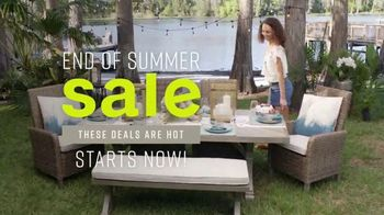 Ashley HomeStore End of Summer Sale TV Spot, 'Sofas and Dining Sets' Song by Midnight Riot - Thumbnail 3