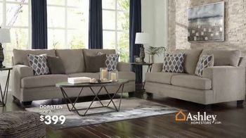 Ashley HomeStore End of Summer Sale TV Spot, 'Sofas and Dining Sets' Song by Midnight Riot - Thumbnail 4