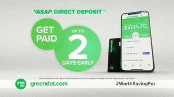 Green Dot Unlimited Cash Back Bank Account TV Spot, 'Unlimited Bonuses' - Thumbnail 6