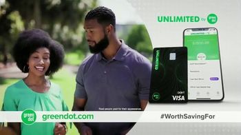 Green Dot Unlimited Cash Back Bank Account TV Spot, 'Unlimited Bonuses' - Thumbnail 7