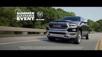 Ram Trucks Summer Clearance Event TV Spot, 'Hurry In' Song by Eric Church [T2] - Thumbnail 4