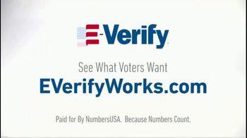 NumbersUSA TV Spot, 'E-Verify Works' - Thumbnail 5