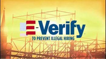 NumbersUSA TV Spot, 'E-Verify Works' - Thumbnail 2