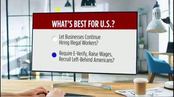 NumbersUSA TV Spot, 'E-Verify Works' - Thumbnail 4