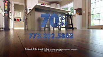 Luna Flooring 70 Percent Off Sale TV Spot, 'Transform Your Home' - Thumbnail 10