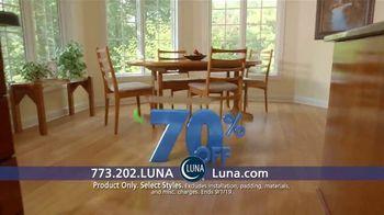 Luna Flooring 70 Percent Off Sale TV Spot, 'Transform Your Home' - Thumbnail 2