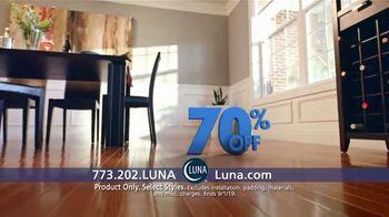 Luna Flooring 70 Percent Off Sale TV Spot, 'Transform Your Home' - Thumbnail 4