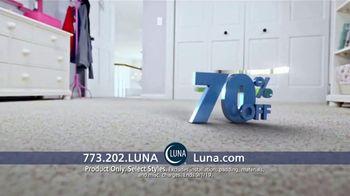 Luna Flooring 70 Percent Off Sale TV Spot, 'Transform Your Home' - Thumbnail 7