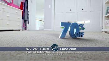 Luna Flooring 70 Percent Off Sale TV Spot, 'Get Floors You'll Love for Less' - Thumbnail 7