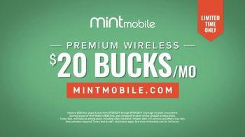 Mint Mobile TV Spot, 'Great Coverage: $20' - Thumbnail 9