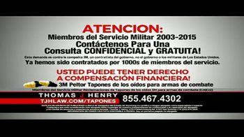 Thomas J. Henry Injury Attorneys TV Spot, 'Tapones de oídos' [Spanish] - Thumbnail 5