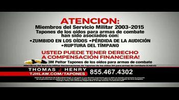 Thomas J. Henry Injury Attorneys TV Spot, 'Tapones de oídos' [Spanish] - Thumbnail 3