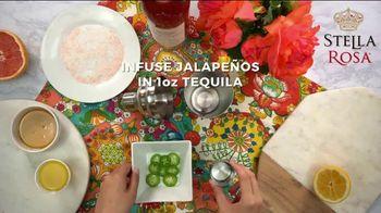 Stella Rosa Wines TV Spot, 'How-To Cocktail Recipe: Grapefruit Jalapeño StellaRita' - Thumbnail 3