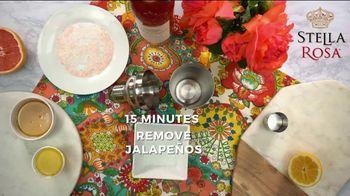 Stella Rosa Wines TV Spot, 'How-To Cocktail Recipe: Grapefruit Jalapeño StellaRita' - Thumbnail 4