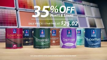 Sherwin-Williams TV Spot, 'Early Bird Gets the Best Paint' - Thumbnail 6