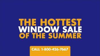 1-800-HANSONS Hottest Window Sale of the Summer TV Spot, 'August Windows: Renaissance Festival'