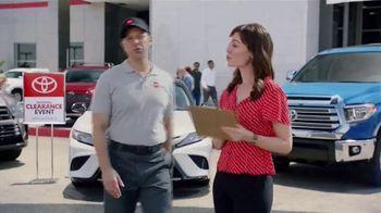 Toyota National Clearance Event TV Spot, 'Duet' [T1] - Thumbnail 4
