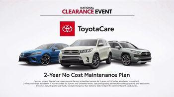 Toyota National Clearance Event TV Spot, 'Duet' [T1] - Thumbnail 6