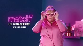 Match.com TV Spot, 'Let's Make Love!' Featuring Rebel Wilson - 1165 commercial airings
