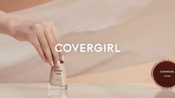 CoverGirl Clean Collection TV Spot, 'Breathes With You' - Thumbnail 1