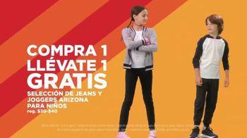 JCPenney Venta de Súper Sábado TV Spot, 'BOGO: jeans, joggers y toallas' [Spanish] - Thumbnail 3