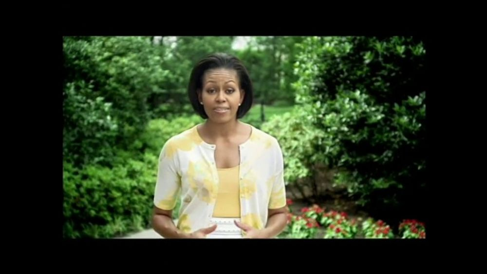 Let's Move TV Commercial, 'Healthy Activities: Baseball' Featuring Michelle Obama, Carlos Gonzales