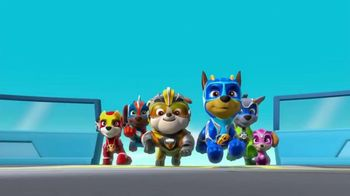 PAW Patrol Super Paws Mighty Pups Transforming Jet Command Center TV Spot, 'Transform' - Thumbnail 1
