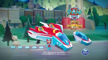 PAW Patrol Super Paws Mighty Pups Transforming Jet Command Center TV Spot, 'Transform' - Thumbnail 9