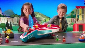 PAW Patrol Super Paws Mighty Pups Transforming Jet Command Center TV Spot, 'Transform' - Thumbnail 2