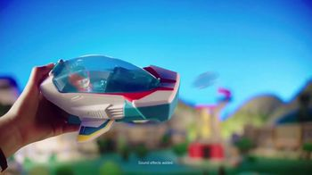 PAW Patrol Super Paws Mighty Pups Transforming Jet Command Center TV Spot, 'Transform' - Thumbnail 7