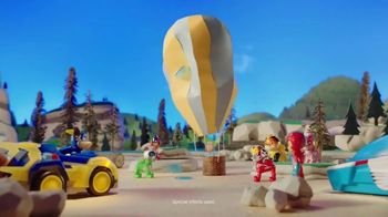 PAW Patrol Super Paws Mighty Pups Transforming Jet Command Center TV Spot, 'Transform'