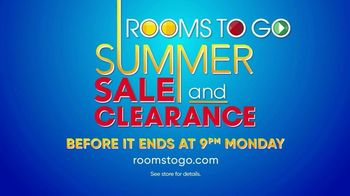 Rooms to Go Summer Sale and Clearance TV Spot, 'The Last Weekend' - Thumbnail 8