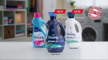 Downy WrinkleGuard TV Spot, 'All Day Wrinkle Protection' - Thumbnail 10