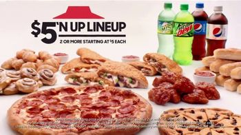Pizza Hut $5'N Up Lineup TV Spot, 'It's What's on the Inside That Counts'