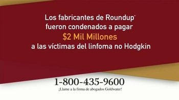 Goldwater Law Firm TV Spot, 'Atención: Linfoma' [Spanish] - Thumbnail 2