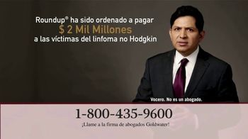Goldwater Law Firm TV Spot, 'Atención: Linfoma' [Spanish] - Thumbnail 3