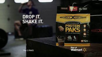 Body Fortress Protein PAKS TV Spot, 'My Body, My Fortress' - Thumbnail 10