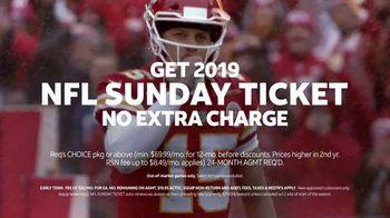 DIRECTV NFL Sunday Ticket TV Spot, 'Ice Bath' Featuring Patrick Mahomes II - Thumbnail 10