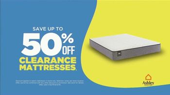 Ashley HomeStore Mattress Sale & Clearance Event TV Spot, 'Up to 50 Percent Off' Song by Midnight Riot - Thumbnail 3