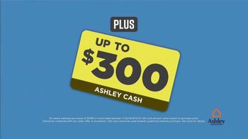 Ashley HomeStore Mattress Sale & Clearance Event TV Spot, 'Up to 50 Percent Off' Song by Midnight Riot - Thumbnail 5