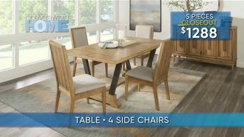 Rooms to Go Summer Sale and Clearance TV Spot, 'Cindy Crawford Dining Room' - Thumbnail 3