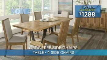 Rooms to Go Summer Sale and Clearance TV Spot, 'Cindy Crawford Dining Room' - Thumbnail 4