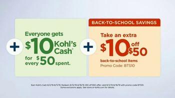 Kohl's TV Spot, 'Back to School Savings: Fitbit and Dyson' - Thumbnail 7