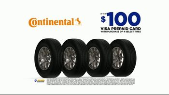 National Tire & Battery TV Spot, 'Buy Three, Get One: Continental' - Thumbnail 3