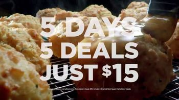 Red Lobster Weekday Win Menu TV Spot, 'Five Days, Five Deals' - Thumbnail 10